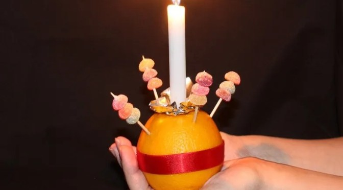 Christingle, 2020 Materials you will need if you want to join in