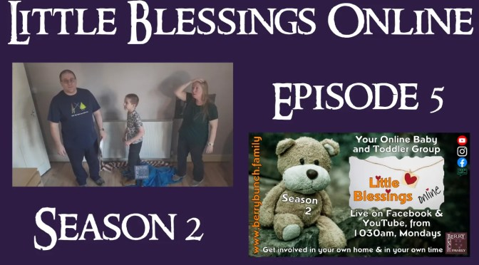 Little Blessings Online, Series 2, Episode 5, Let Us Try