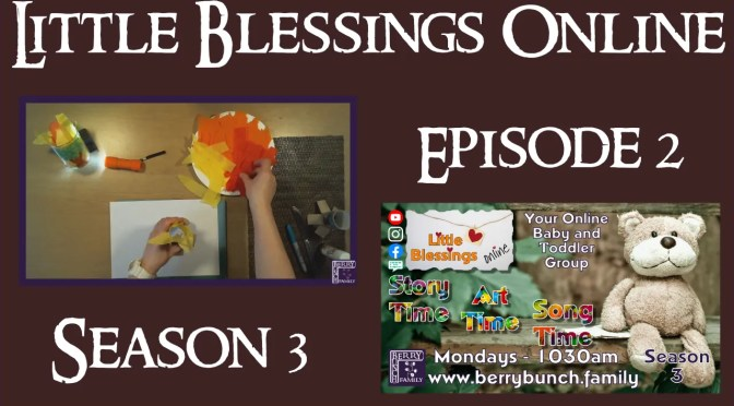 Little Blessings Online, Series 3, Episode 2, Moses and The Burning Bush