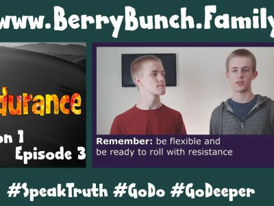 Endurance, Series 1, Episode 3, Roll With The Punches