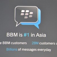 BlackBerry Messenger ranked no.1 in Asia