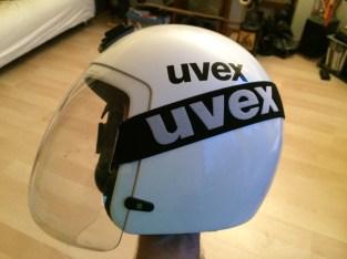 Ice luge helmet