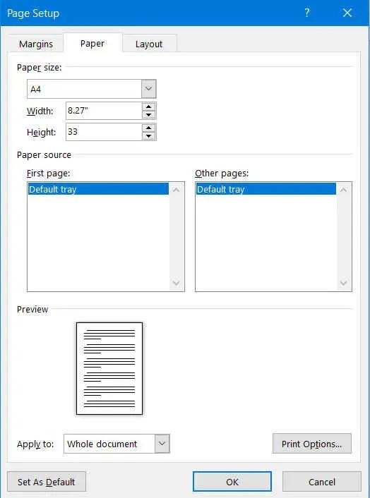 Hasil Print Terpotong : hasil, print, terpotong, Print, Tidak, Terpotong, Microsoft