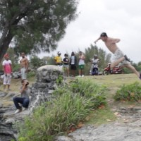 #Bermuda Cliff Diving - Epic Miscalculation