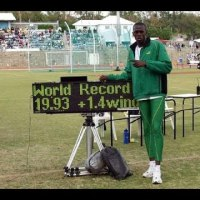 Carifta Games Bermuda 2004 - Usain Bolt (200m in 19.93 secs)
