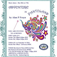 Adventures in Pantoland - #Bermuda Musical & Dramatic Society