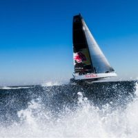 66 hours #Bermuda #NewYork in the World's 1st Off-Shore Catamaran @RedBull