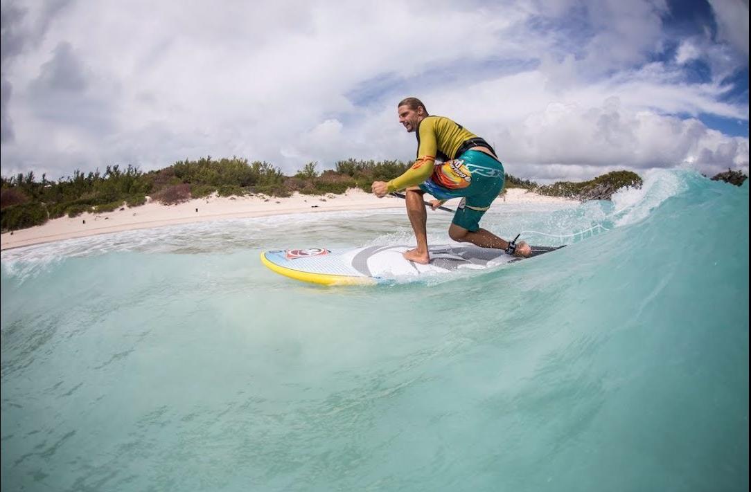 #Bermuda Windsurfing w/ Florian Jung @ Horseshoe Bay Beach