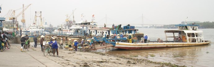 Ferry in Haiphong