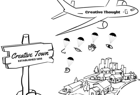 Flight to Creative Town