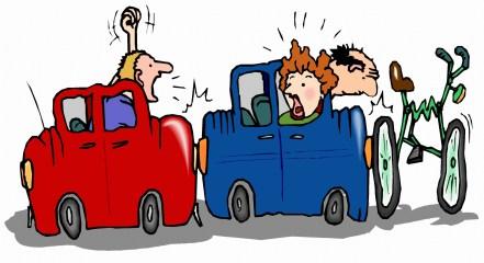 Car Wreck Cartoon