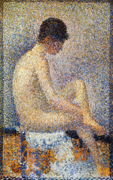 Georges Seurat Seated Model