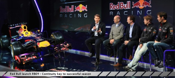 Red Bull launch RB09 - Continuity key to successful season