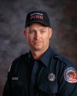 Firefighter Cal Bonefield