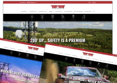 Website Design, SEO (Search Engine Optimization), Image Optimization | Tuf-Tug Products Website Design