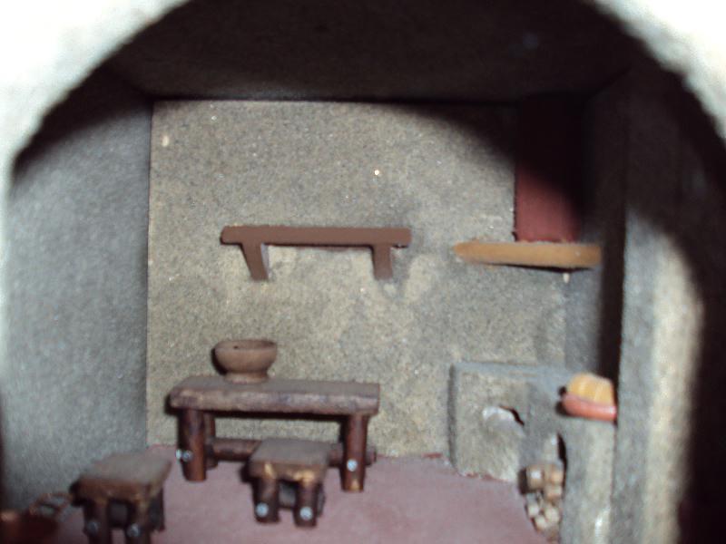 Il presepe di Massimo Bertocci  Presepe 2009  Interno casa