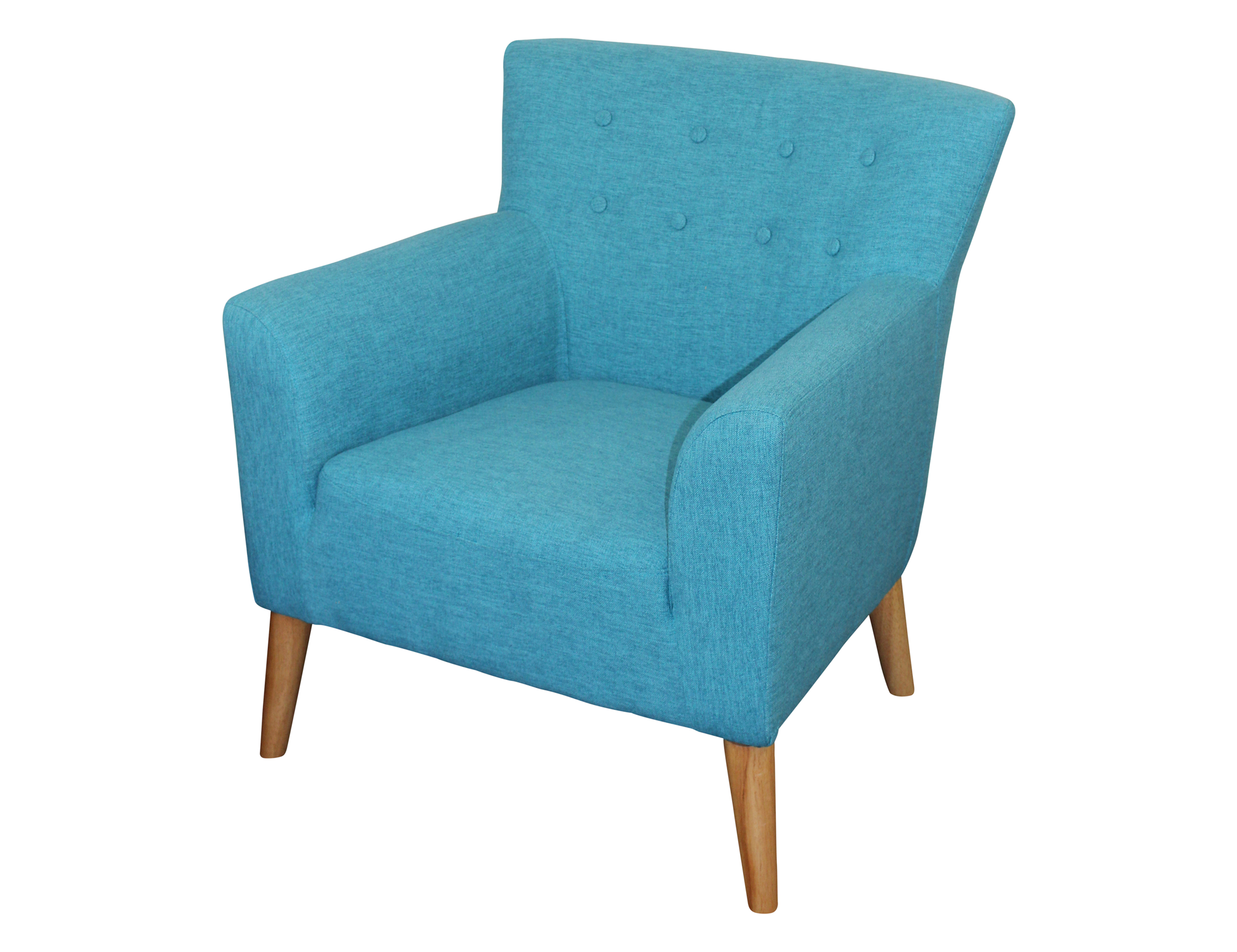 Teal Chair Jett Chair 81 X 79 X 75 Fiesta Teal Fabric Berton Furniture
