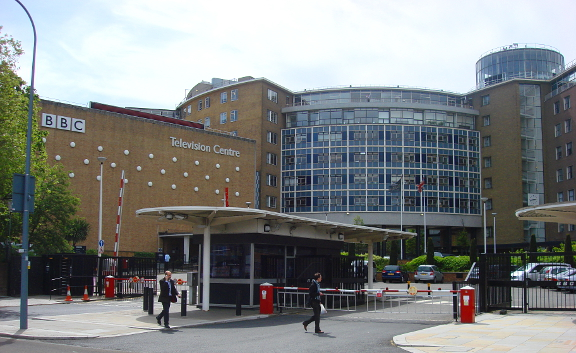 An image of BBC Television Centre