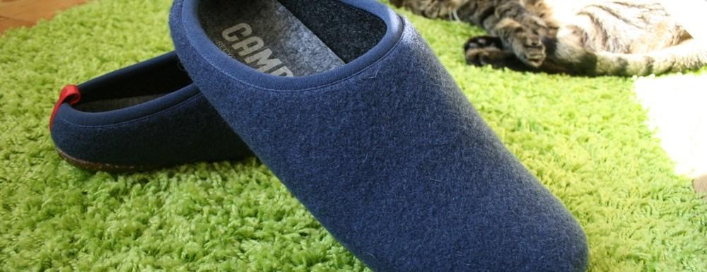 Mes nouvelles pantoufles Camper hyper confortables !
