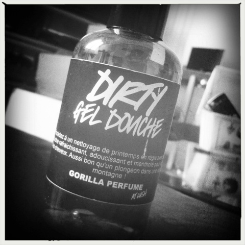 Lush gel douche dirty gorilla