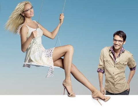Collection NU d'Atol : les lunettes d'Adriana sont légères, légères, légères…