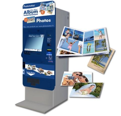 Mini album photomaton