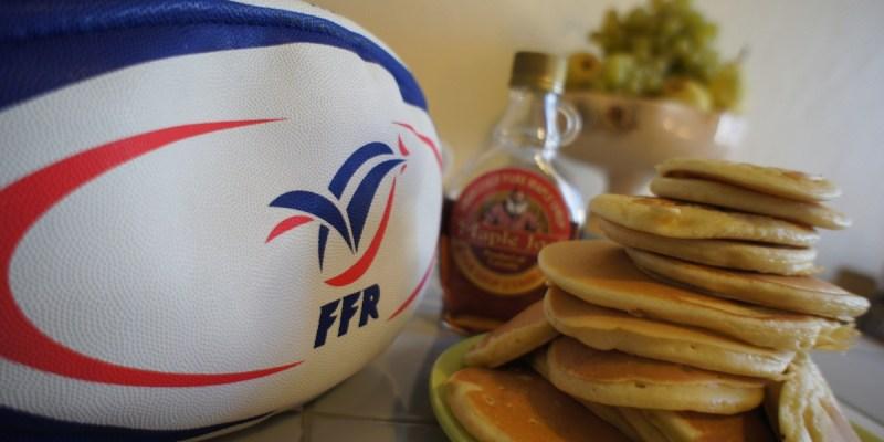 Pancakes avant France – Canada