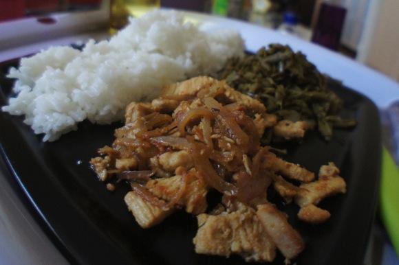 Poulet riz