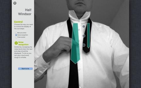 Tie Sight : l'appli Mac qui vous apprend à faire votre noeud de cravate