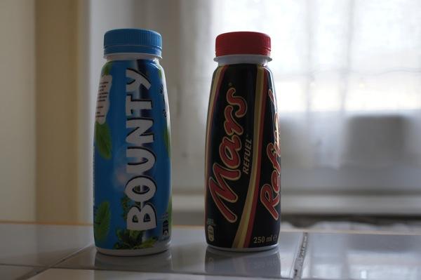 Mars et Bounty à boire