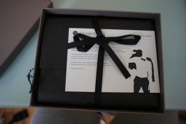 Glossybox homme janvier 2