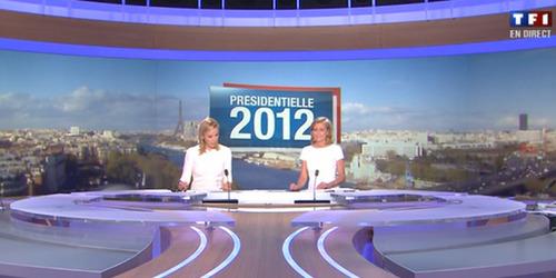 Présidentielle : Les présentatrices ont voté blanc