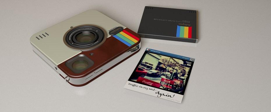 J'en rêve : un appareil photo Instagram et Polaroid
