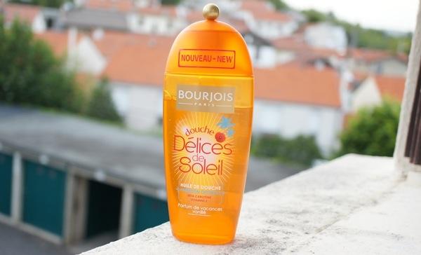 Huile douche bourjois delices soleil