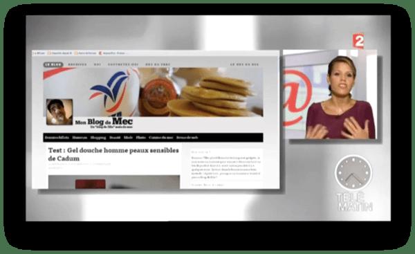 Monblogdemec présenté par Laura du web