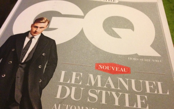 Gq manuel style