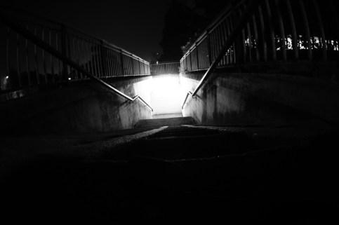 La lumière du souterrain