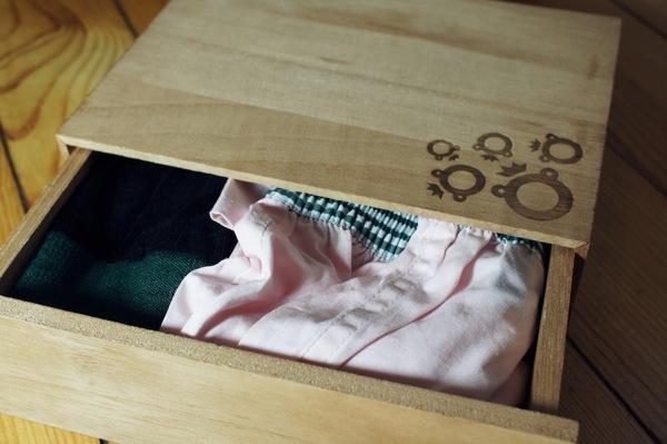 Dagobear chaussettes calecon2