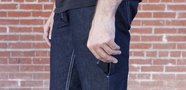 I/O Denim : jeans avec une poche spéciale smartphone