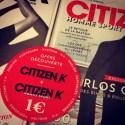 Jeudi : J'ai découvert la version Homme Sport du magazine Citizen K
