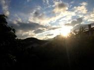 Vendredi 17 mai : ciel du soir et puy de Dôme