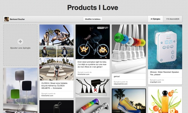 Pinterest product