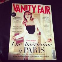 Mercredi 26 : J'ai (moi aussi) acheté Vanity Fair