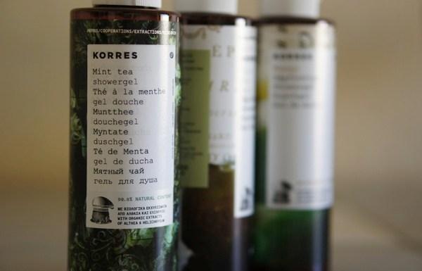 Korres : cosmétiques naturels venus de Grèce