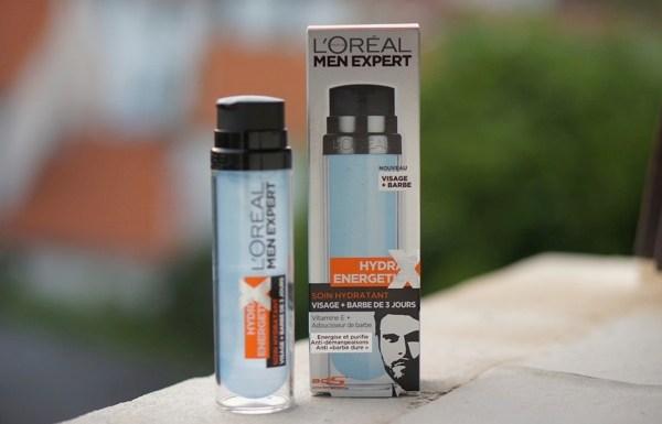 L'Oréal Men Expert Hydra Energetic soin visage + barbe de 3 jours