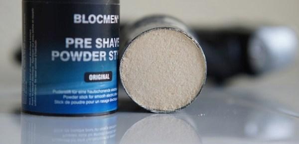Test : Poudre pour rasage électrique Blocmen