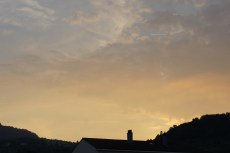Mercredi 28 août : ciel du soir