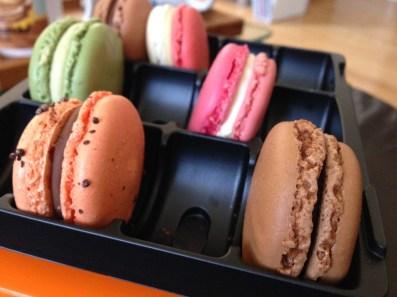 Dimanche 22 septembre : tea time macarons