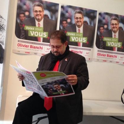 Vendredi 31 janvier : couverture de la campagne des municipales