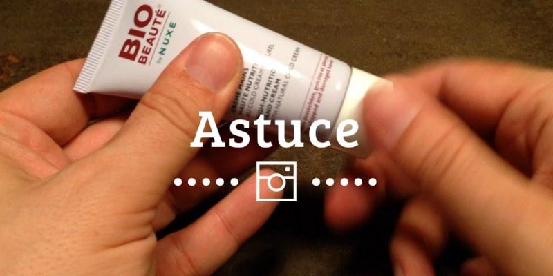 Mini-astuce vidéo : Comment se mettre de la crème sur les mains